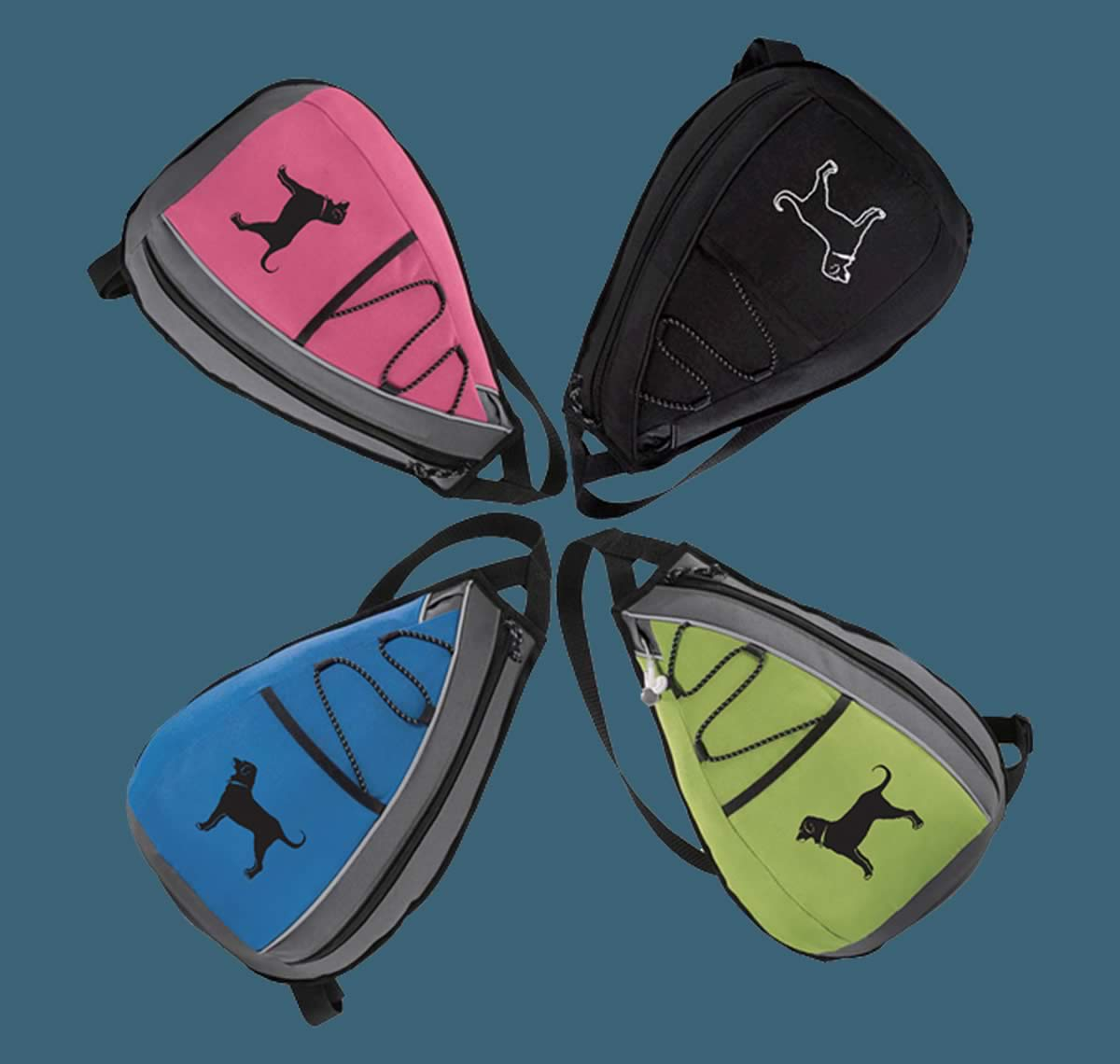 The Black Dog sling bags