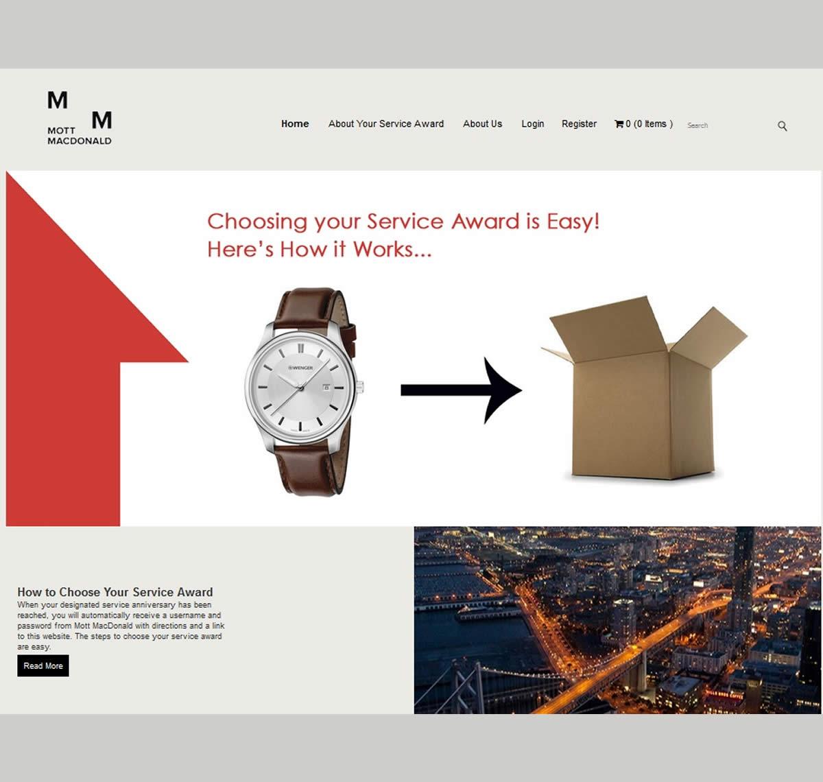 Mott MacDonald YOS website screenshot