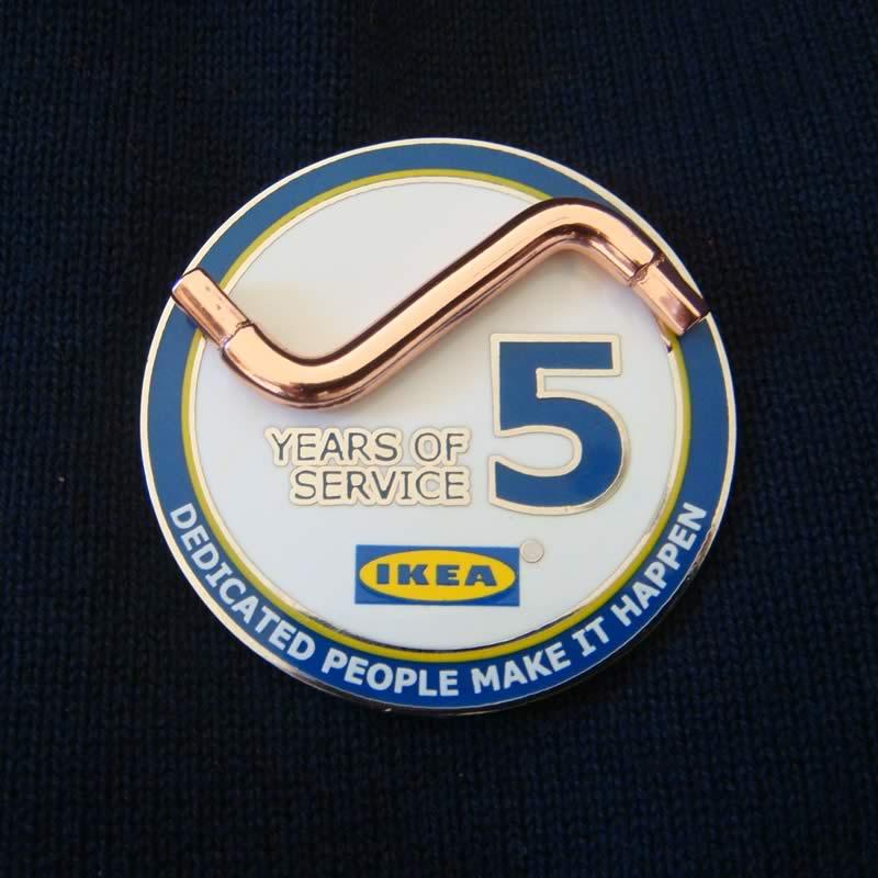 IKEA 5 years of service pin
