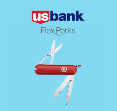 US Bank Flex Perks with Classic SD Pocket Knife